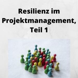 Resilienz im Projektmanagement, Teil 1