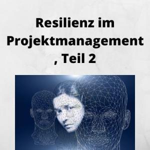 Resilienz im Projektmanagement, Teil 2